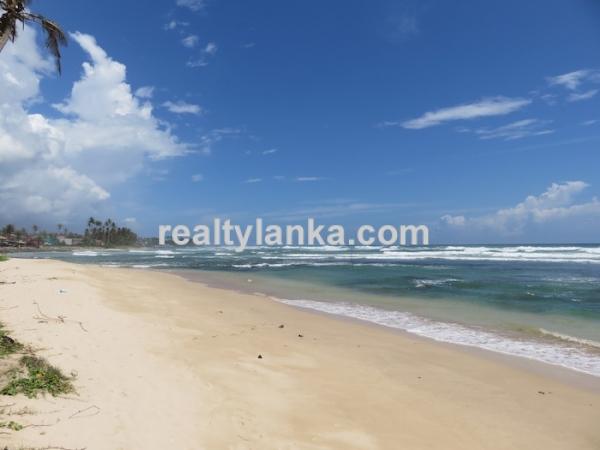 30m Beachfront Property In Ahangama