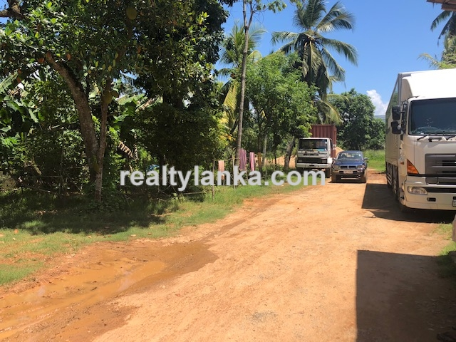 Property Facing The Galle-Matara Main Road