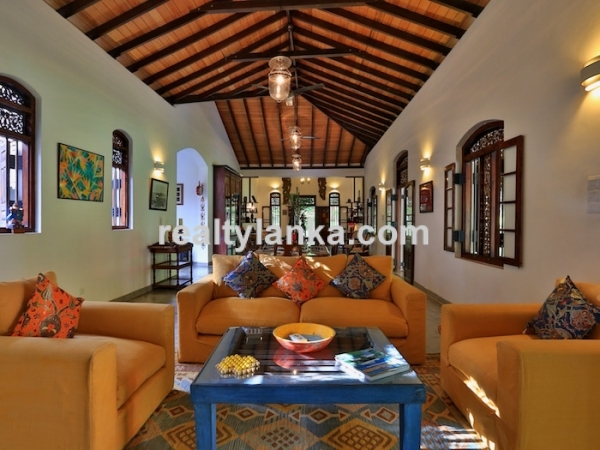 Luxury Colonial Villa In Thalpe With A 2 Acres Land